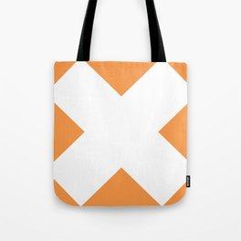 X WHITE Tote Bag