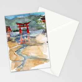 The Great Torii - Japan Stationery Cards