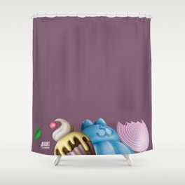 Sweets UP! Shower Curtain