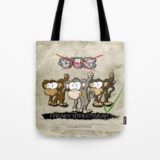 Protest Monkeys Tote Bag