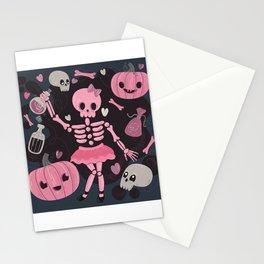 Love Potion Skeleton Dance Stationery Cards