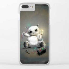 March of Robots: Day 2 Clear iPhone Case