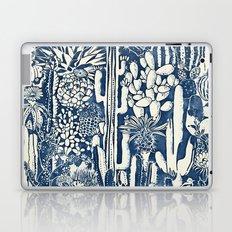 Indigo cacti Laptop & iPad Skin