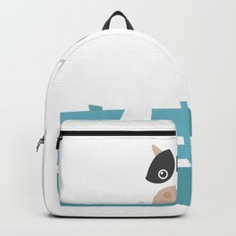 Cow Funny Pi Day design 3.14159 Gift for Math Nerds Geek Backpack