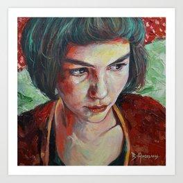 Amelie (Amélie) Art Print