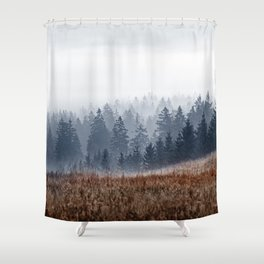 Lost In Fog Shower Curtain