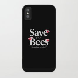 SAVE THE BEES - GOLF WANG iPhone Case