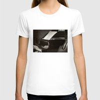 music notes T-shirts featuring Grand Piano and Music Notes by cinema4design