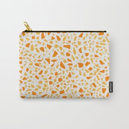 AFE Terrazzo - Tangerine & Lightning Yellow Carry-All Pouch
