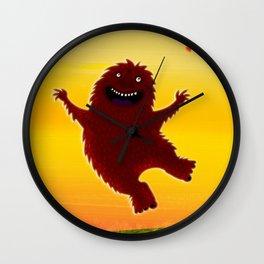 I found a bigfoot Wall Clock