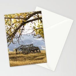 Lean To - Mormon Row - Grand Tetons Stationery Cards