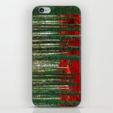 Red Forest iPhone & iPod Skin