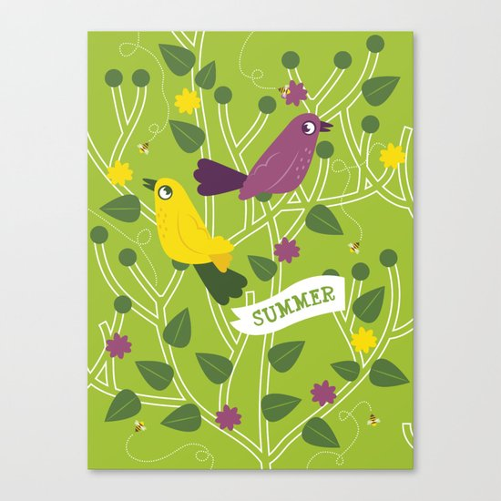 4 Seasons - Summer Canvas Print