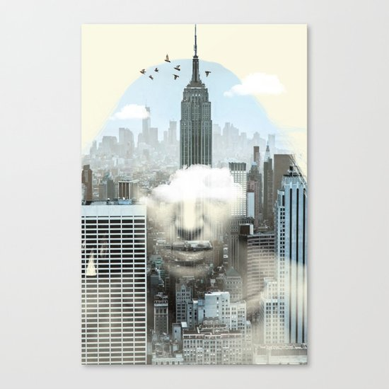 New York City Shift Canvas Print