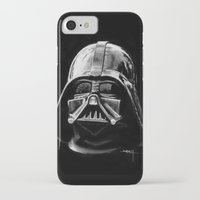 darth vader iPhone & iPod Cases featuring Darth by Creadoorm