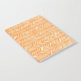 Sherbet Herringbone Lines Notebook