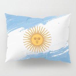 Argentina's Flag Design Pillow Sham
