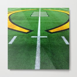 Rugby playing field Metal Print