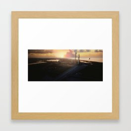 Interplanetary Transport System 2 Framed Art Print