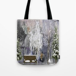 The Magic Of A Winter Day Tote Bag