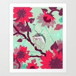 Warmth (Cool) Art Print