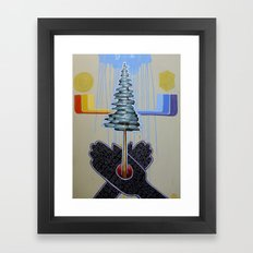 jubilee 2012 - creation Framed Art Print