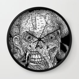 Greetings From Temptation Wall Clock