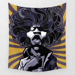 purple haze Hendrix Wall Tapestry