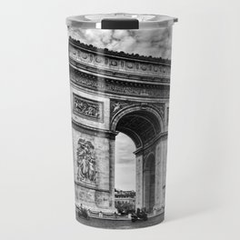 Arc De Triomphe - Paris (BW Version) Travel Mug