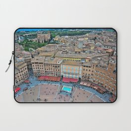Siena, Italy - from above II Laptop Sleeve