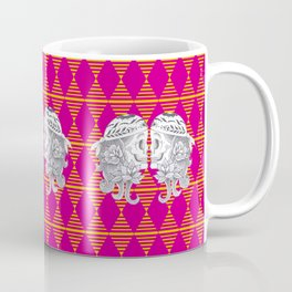 Mexican Skull by Camel Coffee Mug