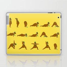 Yoga Bear - Classic Laptop & iPad Skin