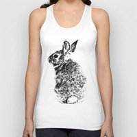 rabbit Tank Tops featuring Rabbit by Anna Shell