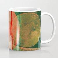 mars Mugs featuring Mars by Fernando Vieira