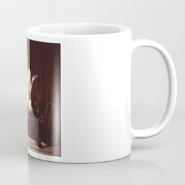 Kinky fetish image with a nude beauty Coffee Mug