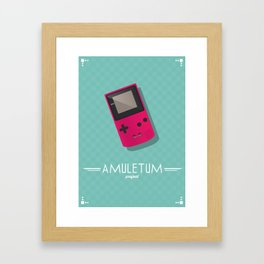 Amuletum Project Framed Art Print