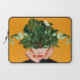 Lady Flowers || Laptop Sleeve