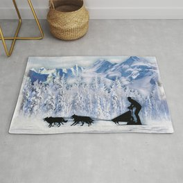 Dogsledding Rug