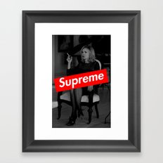 Fiona Goode - Supreme Framed Art Print