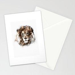 Portrait: Lion Stationery Cards