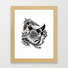 The Blackberry Patch Framed Art Print