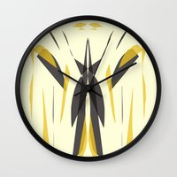 knight Wall Clocks featuring Knight by lillianhibiscus