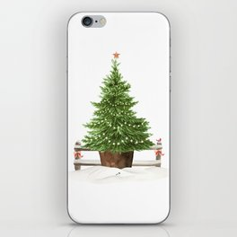 Christmas In The Country iPhone Skin