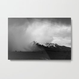 Faded Days At The Top Of The World Metal Print