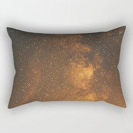 The Milky Way (Forest Landscape Photography, Starry Night Sky Photo) Rectangular Pillow