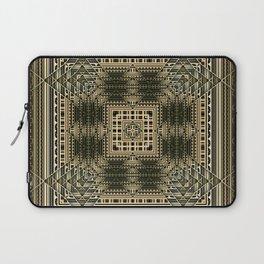 Green Rhythm Laptop Sleeve