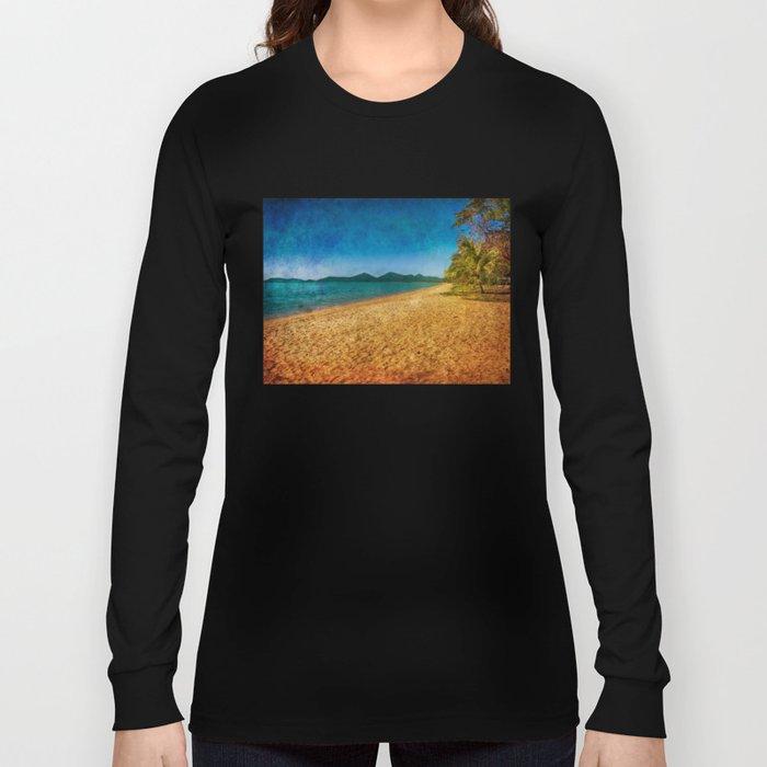 restful beach view Long Sleeve T-shirt