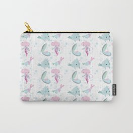 Little sea friends Carry-All Pouch