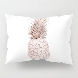 Pineapple Rose Gold Pillow Sham