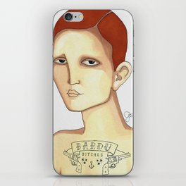 Bardu Bitches iPhone Skin